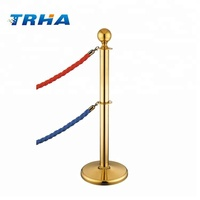 Velvet Rope Post for Hotel Used Fence Post for Sale
