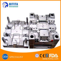 Custom PE plastic parts injection mould plastic production