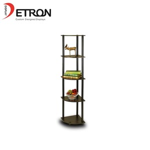 2019 Metal Ornaments Display Rack Supermarket toys floor display cabinet