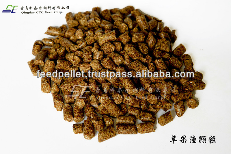 Apple Pomace Pellet