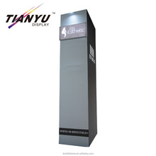 Portable storeroom aluminum display stand for trade show