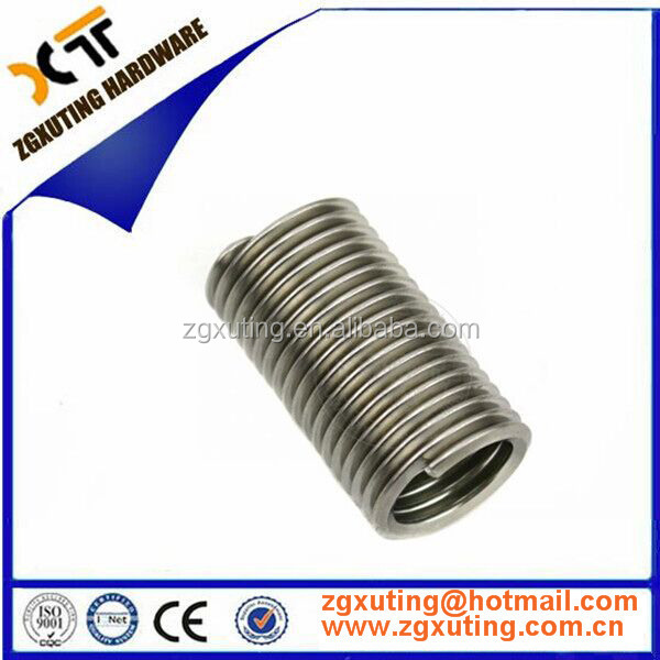 OEM High Precision Thread repair kit M4 M5 M2 <strong>M10</strong> M12 M18 M6 SS 304 wire thread insert