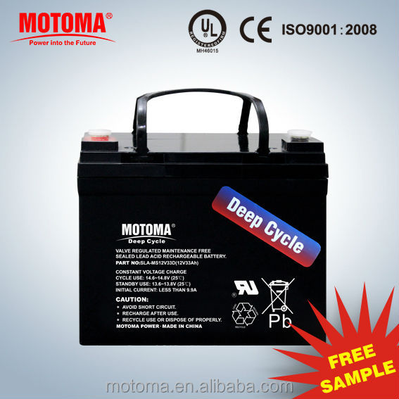 china CE UL ISO long way mf rechargeable 12v sla battery