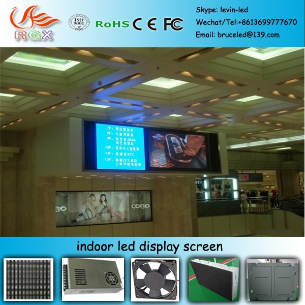 RGX D-10 2015 China p6 vivid images SMD rental full color indoor Led Display