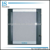 Single film x-ray viewing box/self-induction