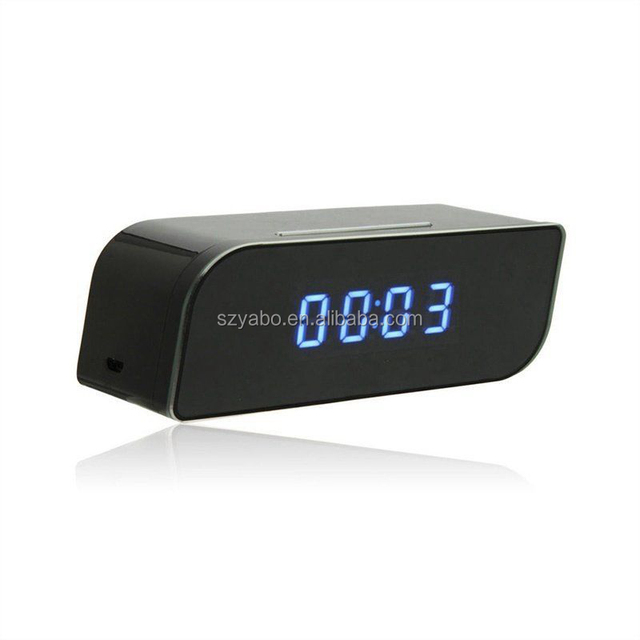 Korea Fashion Table Clock Hidden Camera 1080P HD Wireless Network Camera Smart Alarm Clock WiFi Fluent Video Recorder For Home S