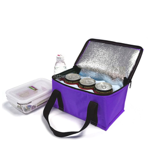 2017 6 Can Pack Trolley Rolling Customized Water Proof Cooler Bag