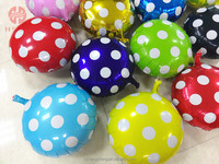 Advertise foil party decoration round balloon