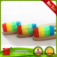 Wholesale Charcoal Wooden Toothbrush Adults / Child Bamboo Toothbrush