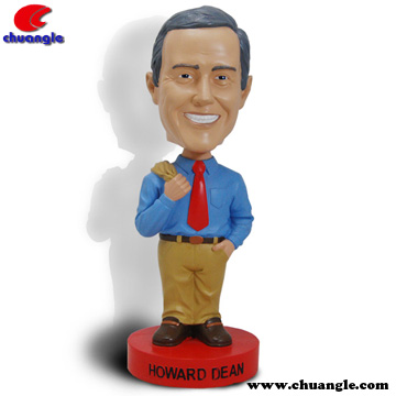 High Quality Resin Bobble Head Toy Craft,Poly Bobble Head