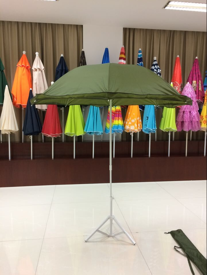 2m steel frame polyester fishing outdoor umbrella