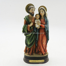 Resin crafts & gifts religious sculpture holy family