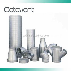 Octovent Straight duct Dust Extraction duct System