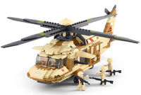 Building Block Black Hawk U-60 Helicopter 429pcs Compatible with Brand toys