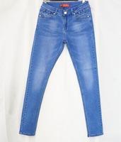 2016 China Wholesale Ladies Top Design Denim Woman Jean