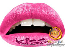 wholesale sexy temporary lip tattoo sticker
