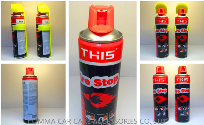 Private label environmental eco-friendly portable foam fire extinguisher fire stop spray