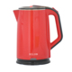 2019 New Kettle ABS Plastic Home Appliance Electric Tea Kettle Double Layer Electric Water Kettle Keep Warm