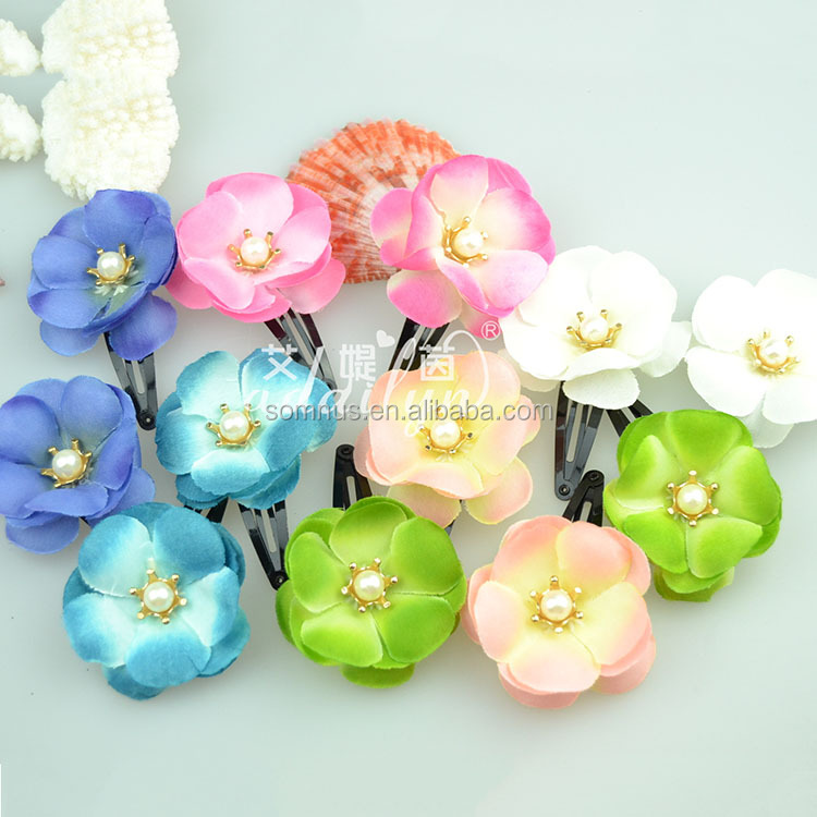 300pcs/pack Baby Hair Accessories Fancy Flower Hair Clip For Hair