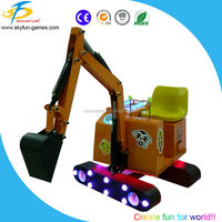 Factory price 360 degree rotation kids mini excavator for sale China