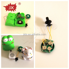 Customized distance motion sensor voice recorder for toy,door bell