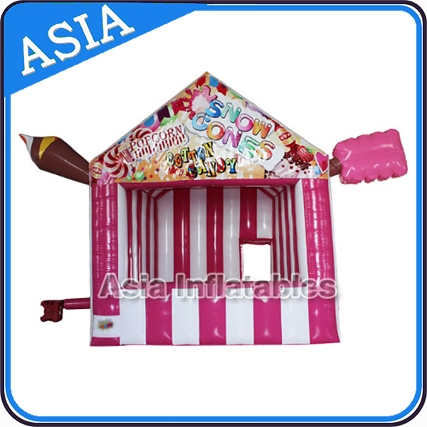 Hot! Popcorn, Cotton Candy , Ice Cream Booth/ Cheap Inflatable Booth Tent