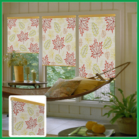 general blackout printed honenycomb blinds and curtains,window shade for child room non woven cloth honeycomb blinds fabric