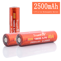 3.7V Rechargeable Battery IMR TustFire 18650 40A 2500mAh Shenzhen Battery 18650