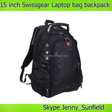 Swissgear nylon laptop backpack bag with handle , computer bag laptop bag 15 inch
