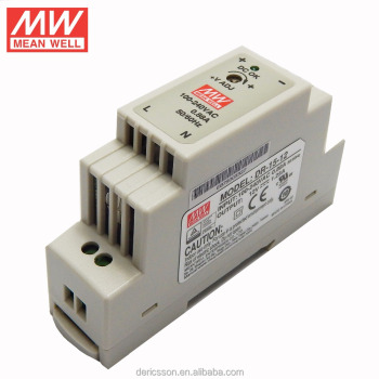 mean well 12v DIN rail switch power supply DR-15-12