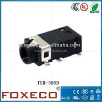6Pin Stereo 3.5mm smt Phone Jack TSH-389D For 3.5mm Audio jack