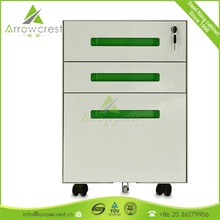 Factory directly steel 3 drawer pedestal filing cabinet
