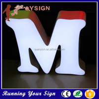 2015 Wholesale acrylic sign board used lighted sign letter