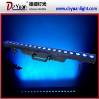 Quad color 18x10W RGBW 4in1 LED indoor Wall Wash light,led City color light