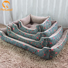 All Year use fashion Jean cooling high quality dog bed wholesale washable dog bed large luxury pet dog bunk bed