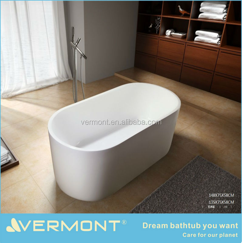 hot sale free standing acrylic bathtub