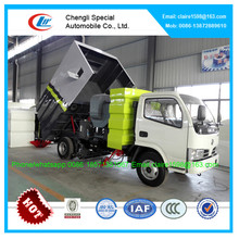 Chinese 4000 liters 4x2 mini vacuum road sweeper truck good price for sale