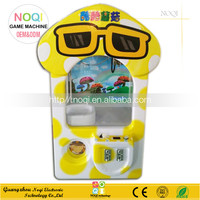 Nice design toy claw crane machine coin operated toy vending kids toys grabbing gift machine