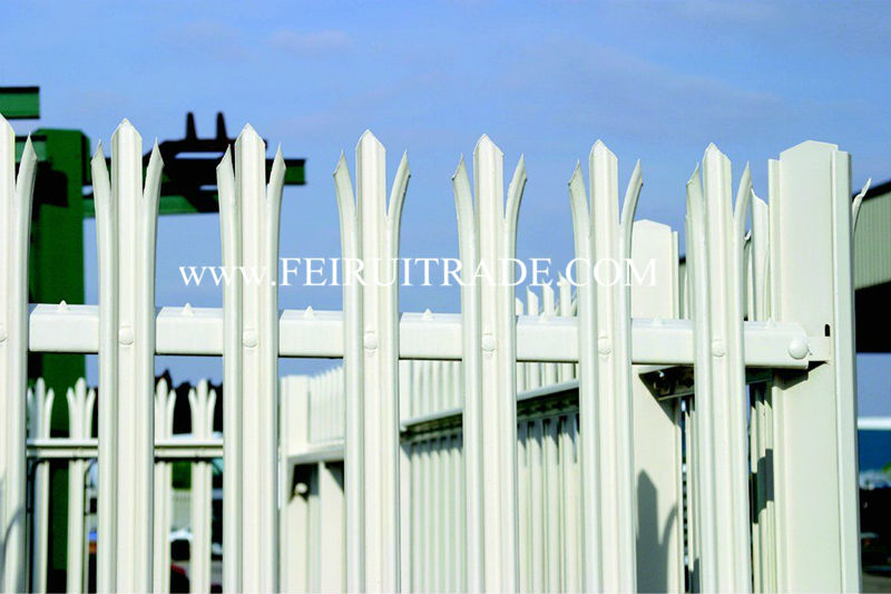 The High Security Metal Garden Palisade Fence Panels