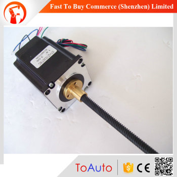 57HZ1530T8C L150mm 3A 1.8NM D=8mm CNC china nema 23 lead screw linear actuator stepper motor
