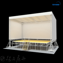 Modular exhibition stage lighting aluminum display truss systems