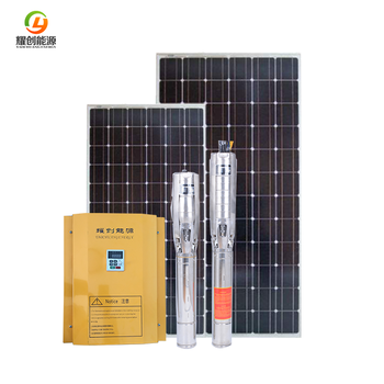 Hot sell 4KW solar submersible water pump system export to India Factory price