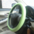 Universal size custom made silicone heated steering wheel cover for auto cars
