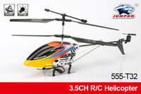 High quality 3.5 channel r c helicopter 360 degree rotation