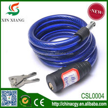 OEM small bike accessory cable lock bicycle lock