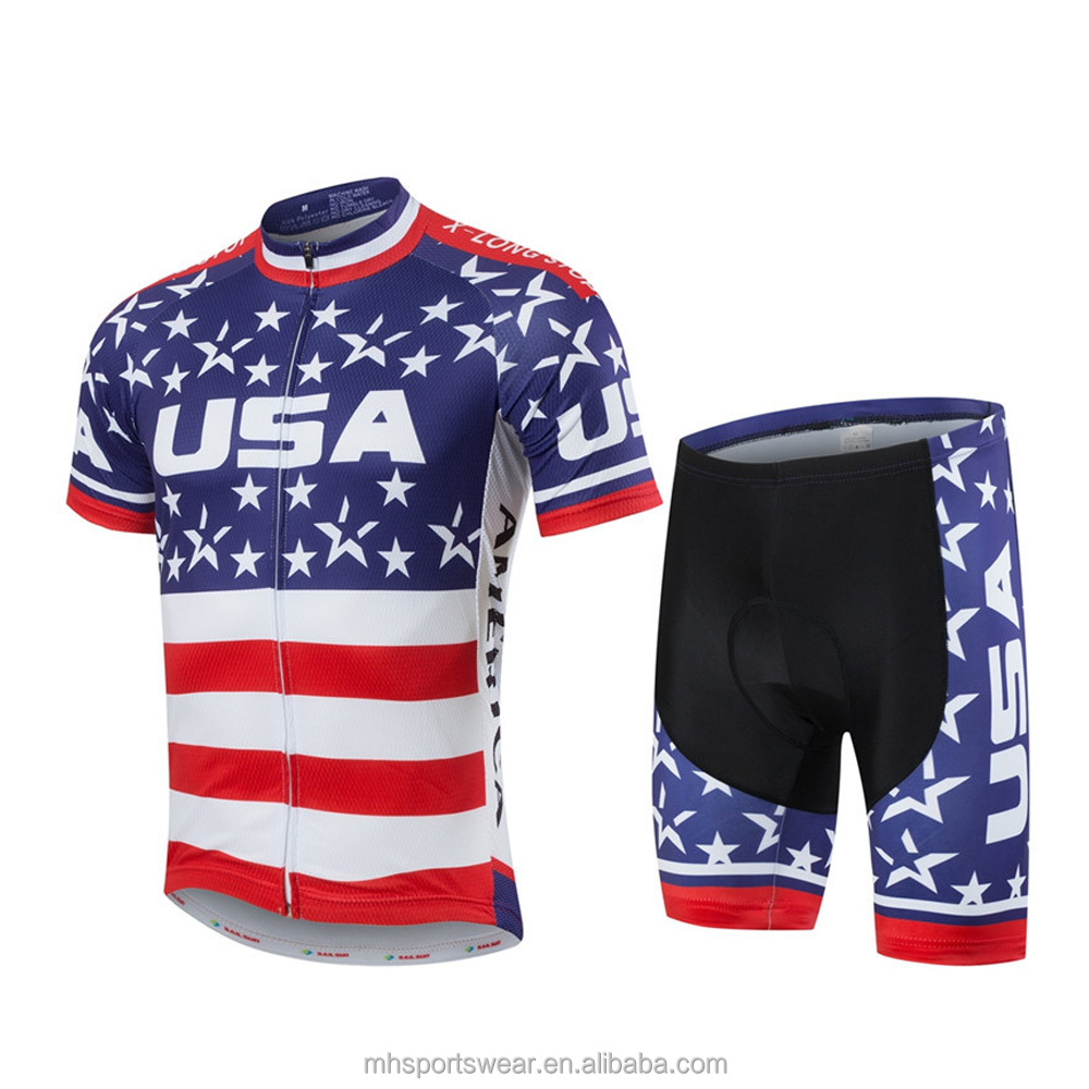 Hot Selling New Design Fast Shipping Cheap Custom Cycling Jersey 2016 Pro Teams