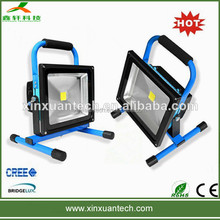 Long lifespan outdoor led flood work light rechargeable portable