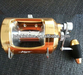Wholesale Machine cut seawolf big game trolling reel