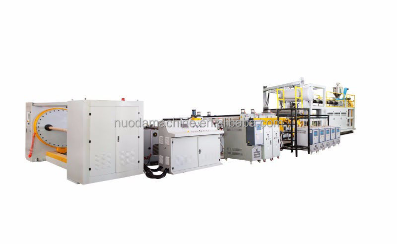 plastic single-layer PP film extruder machine sale for food packing