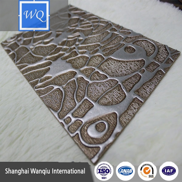 Chinese Manufacturer Embossed MDF Board Textured MDF Wall Panel